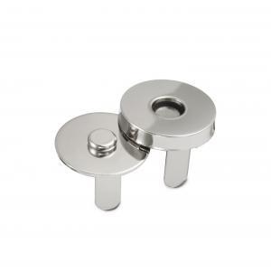 MA1 Ronde magneet 18mm dikte 0.5mm zilver