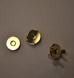 MA14 Ronde magneet 14mm dikte 0.2mm goud