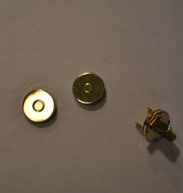 MA16 Ronde magneet 14mm dikte 0.2mm goud