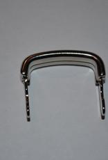 A101 draagriembevestiging brug zilver 25mm