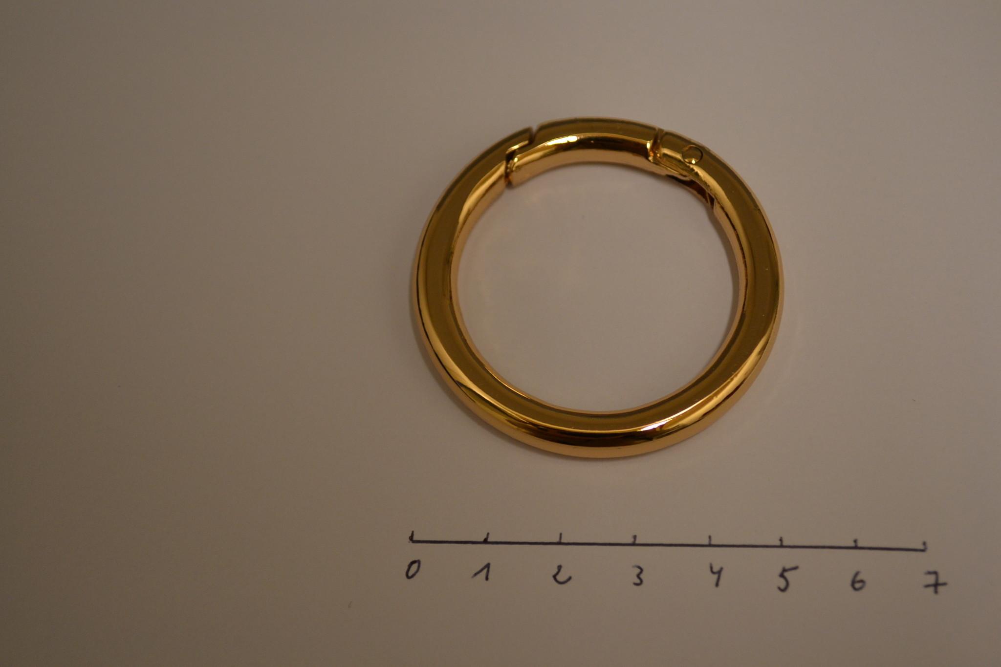 R133 Ring   40mm rosé goud