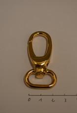 SC105 Musketonhaak 20mm rosé goud