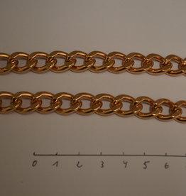 CH23 ketting schakel 10.5/15  rosé goud