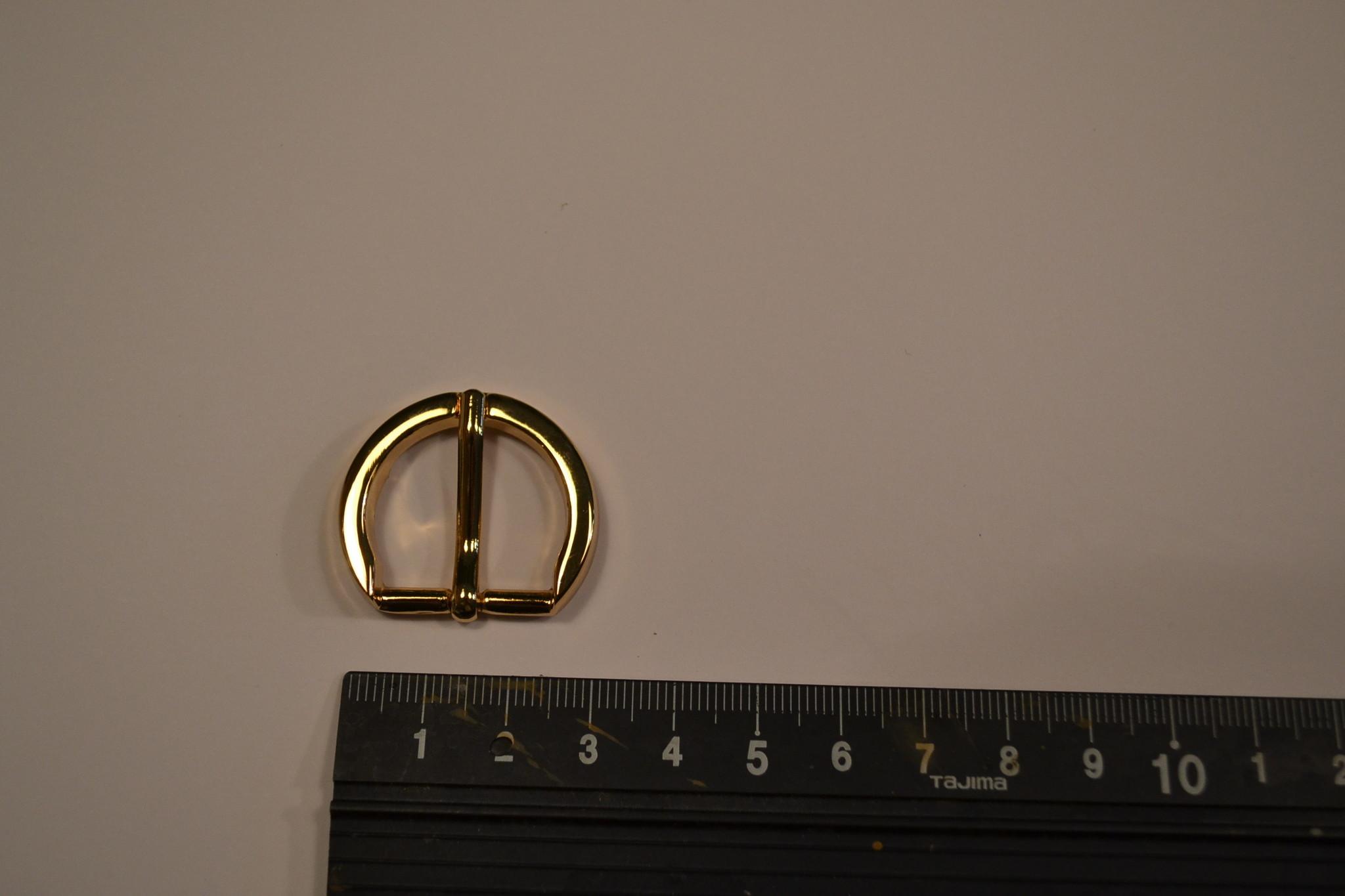 BU15 Gesp goud 20mm