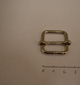 S25 Schuifgesp 20x20x3 zilver