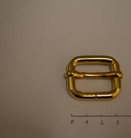 S15 Schuifgesp 25mm goud 25x20x6
