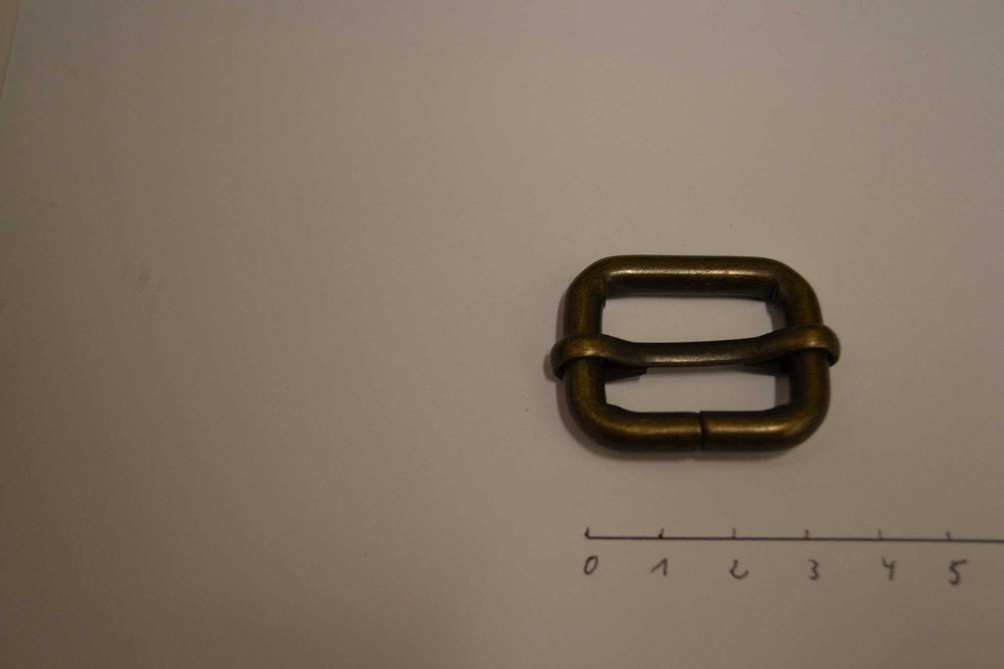 S30 Schuifgesp 25mm brons 25x20x6