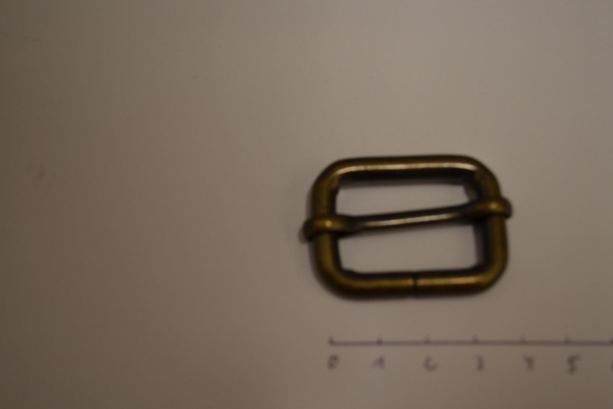 S31 Schuifgesp  brons 30x20x6