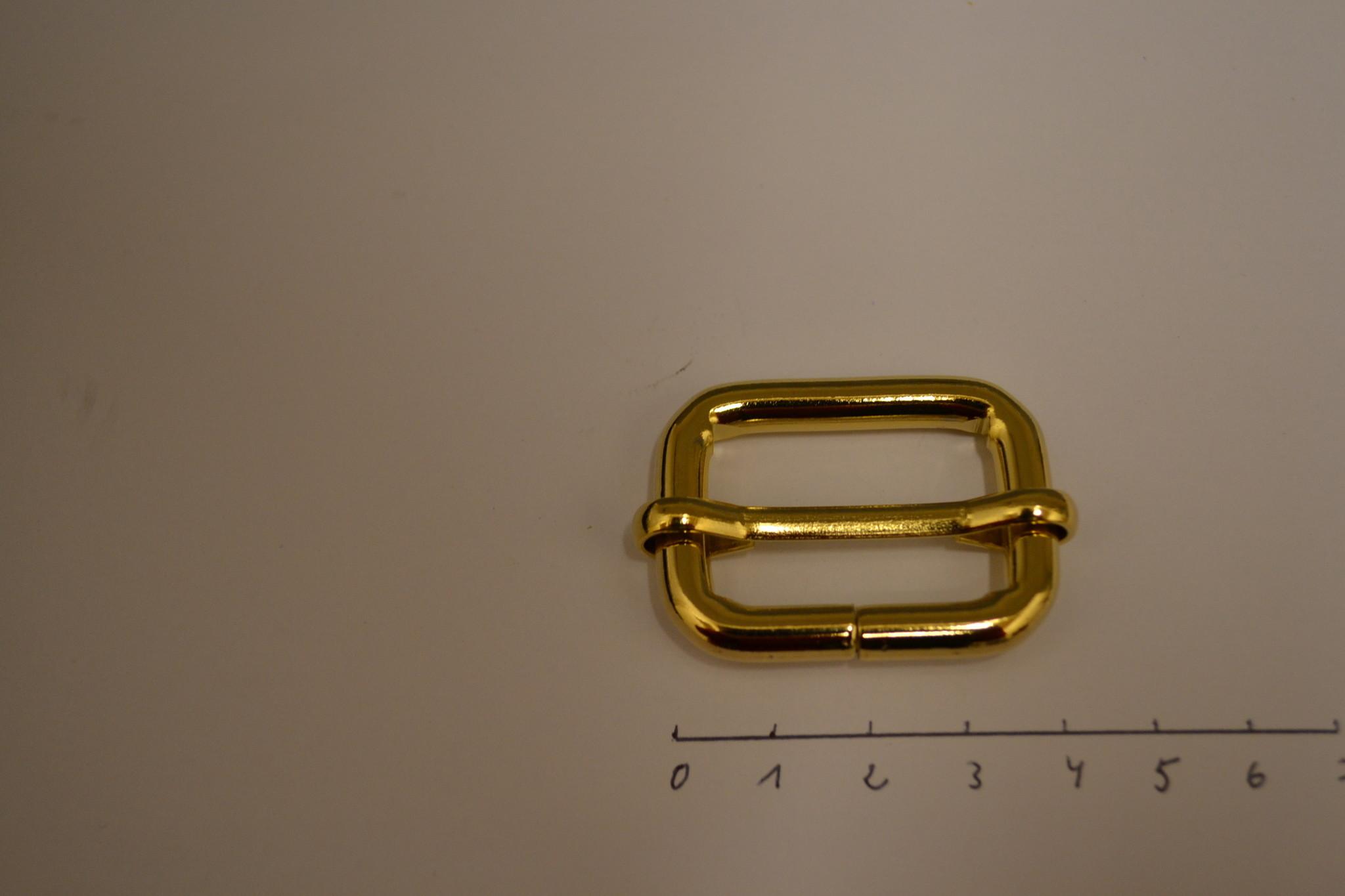 S32 Schuifgesp  goud 30x20x6