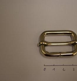 S33 Schuifgesp zilver  30x20x6
