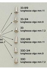 R715 Drukker voor dubbelhoofdige rivet 7mm (033/D)