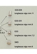 R717 Drukker voor dubbelhoofdige rivet 9.2mm (034)