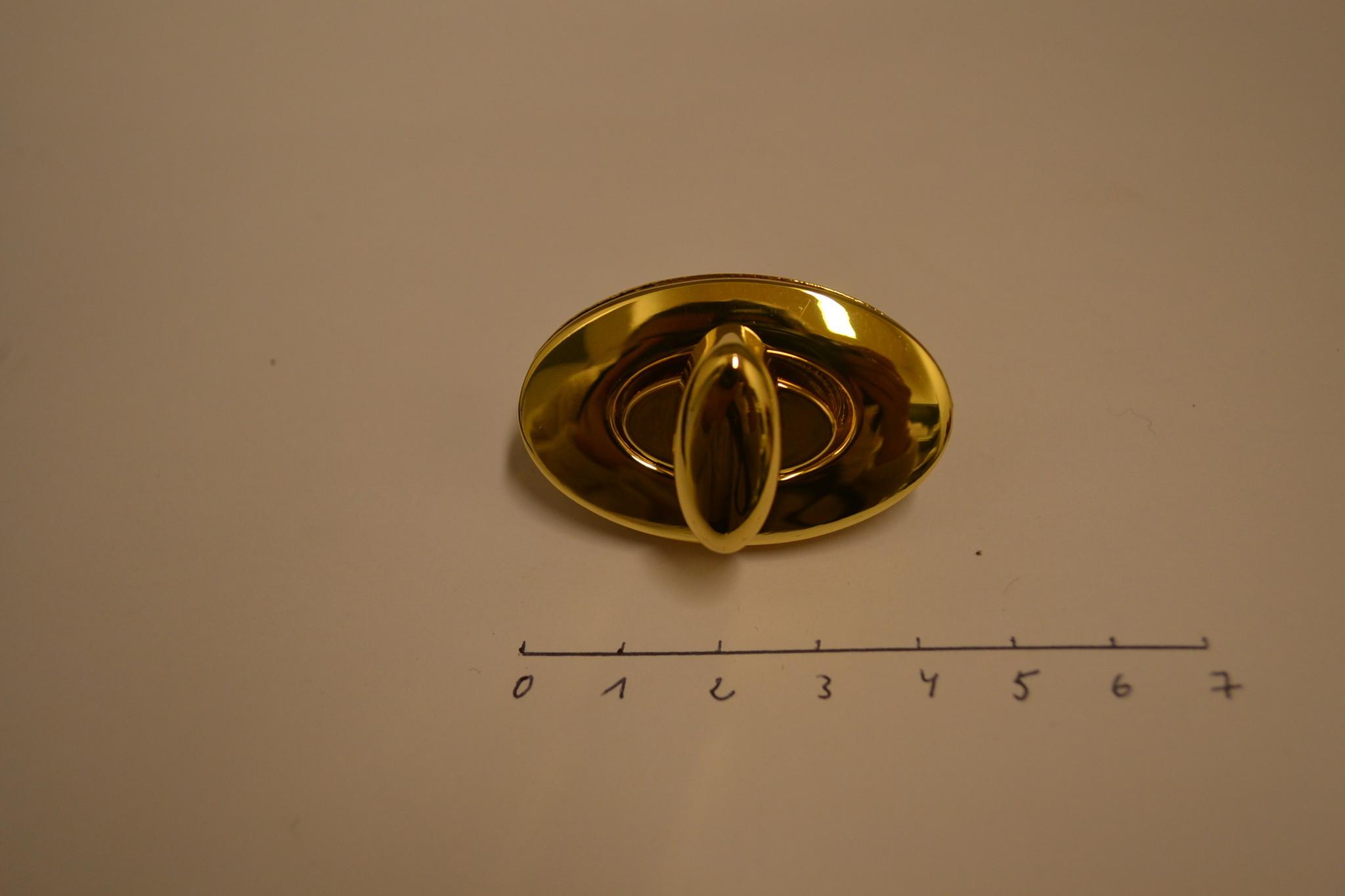TW3  Ovale sluiting goud
