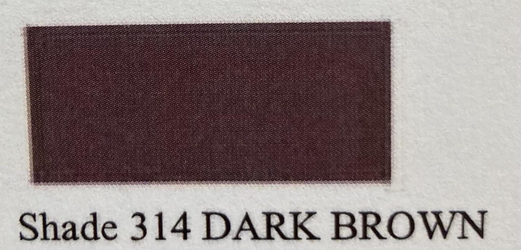 AR 6464/T Kantenverf DARK BROWN