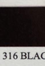 Kantenverf zwart