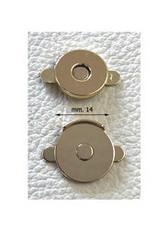MA20 Ronde magneet 14mm dikte 0.2mm zilver
