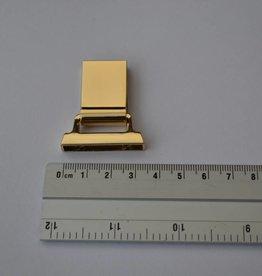 A6 Draagriembevestiging 20mm goud
