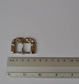 BU18 Gesp zilver