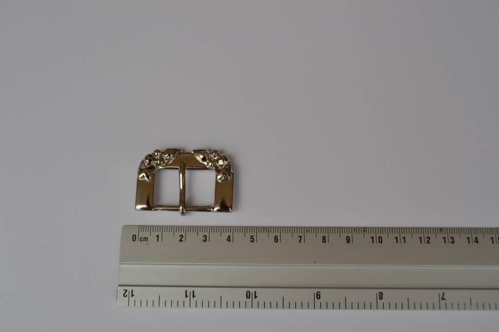 Gesp zilver 25mm