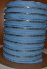Rits op rol : azuurblauw