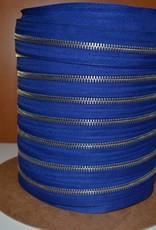 Rits op rol: indigoblauw