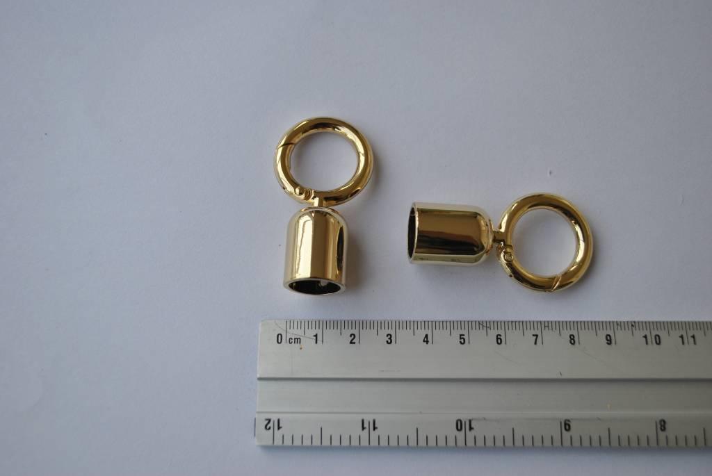 Draagriembevestiging goud