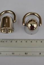83268CF Draagriem/handvat bevestiging zilver