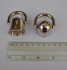 83268CF A86 draagriembevestiging zilver