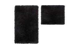 Cosmopolitan Badmat Zwart Set van 2 Basic