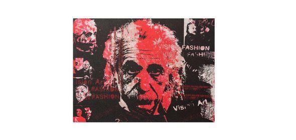 Bondy Living Albert Einstein Schilderij