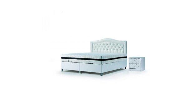 Davidi Design Alvan Opbergbed  Wit 160x200