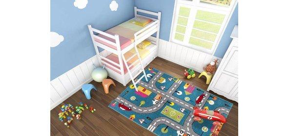 Lalee  Amigo Street Kindervloerkleed 160x230 Blauw