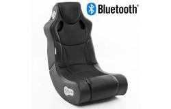 Booster Gamestoel Zwart met Bluetooth