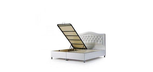 Davidi Design Alvan Opbergbed Wit 140x200