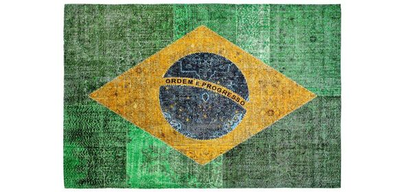 Obsession Flags Vloerkleed 160x230 Brazilië