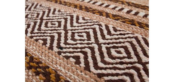 Kayoom Alhambra Vloerkleed 80x150 Bruin
