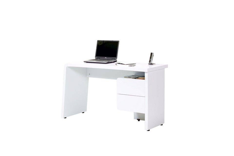 Jahnke moebel culture bureau hoogglans wit kopen bij furnea