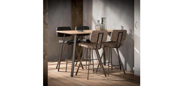 Davidi Design Ebro Barstoel 4 stuks Bruin