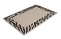 Finca Sisal Vloerkleed 120x170 Zilver 502