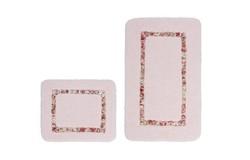 Vanity Badmat Roze Set van 2 Basic