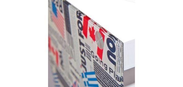 Interlink SAS Cube Bijzettafel Vlaggen