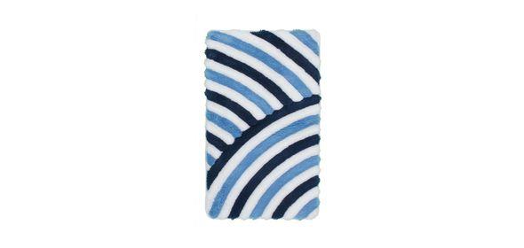 Obsession In Style Badmat Blauw Set van 2 Basic