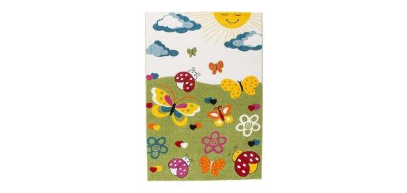 Lalee  Amigo Vlinder Kindervloerkleed 160x230 Groen
