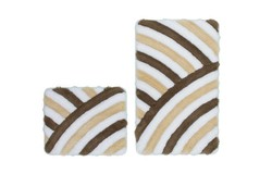 In Style Badmat Taupe Set van 2 Basic