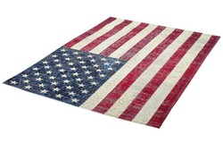 Flags Vloerkleed 160x230 USA