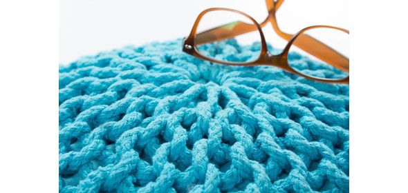 Obsession Cool Poef Turquoise