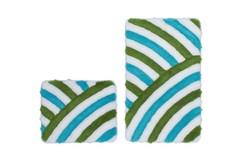In Style Badmat Aqua Set van 2 Basic