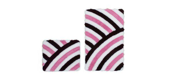Obsession In Style Badmat Paars Set van 2 Basic