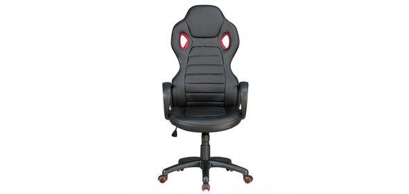 Sky Style Monza Bureaustoel Zwart/Rood