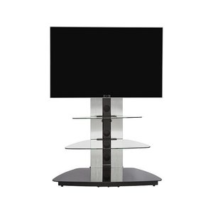 Jahnke Moebel Cuuba MR90 TV meubel Zilver/Zwart